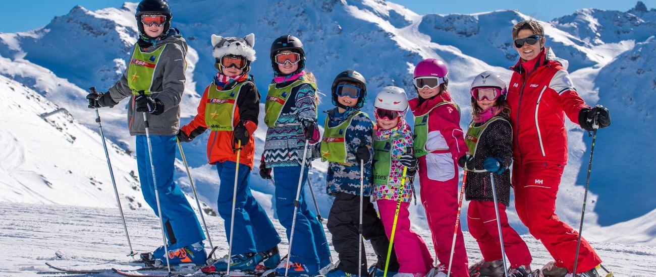 Cours collectifs de ski