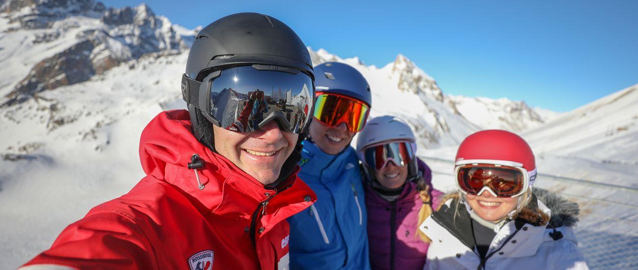 Cours privés de ski Les Menuires