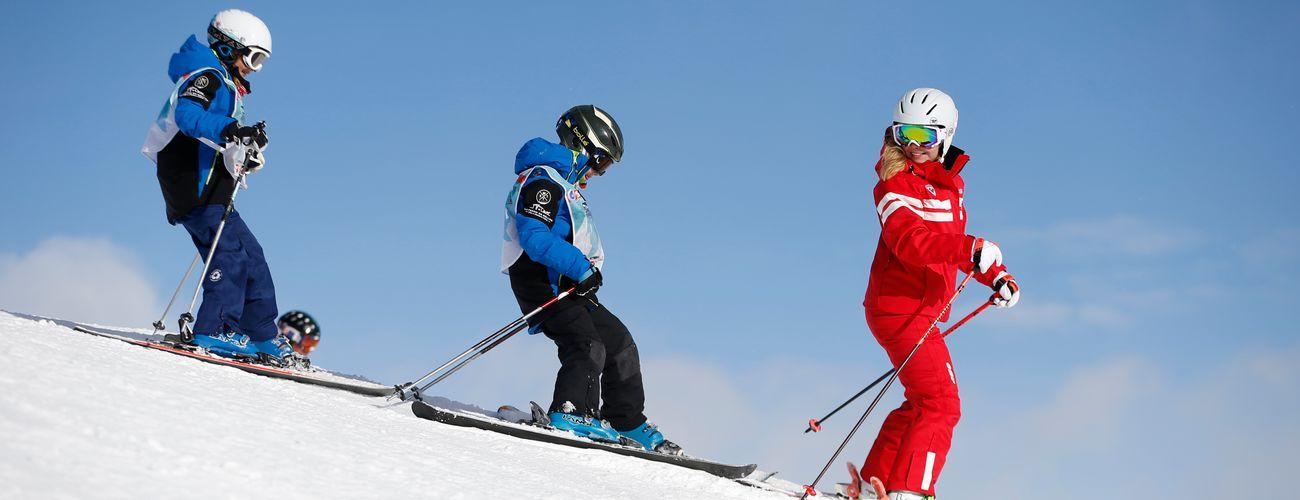 Ski en Corse : cours de ski pour les enfants
