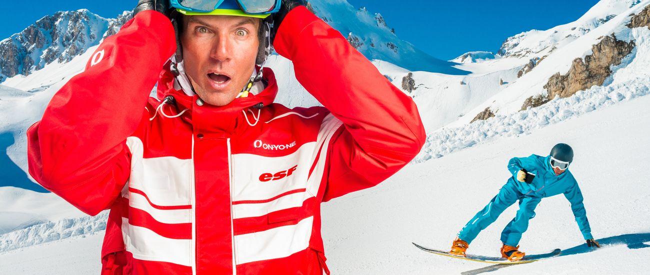 Cours de Snowboard enfant à l'ESF Tignes Les Brévières