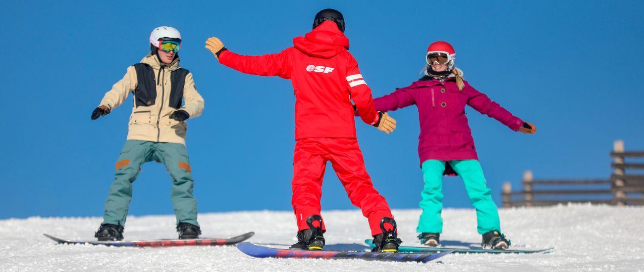 Stage de Snowboard adulte à Tignes Les Brévières