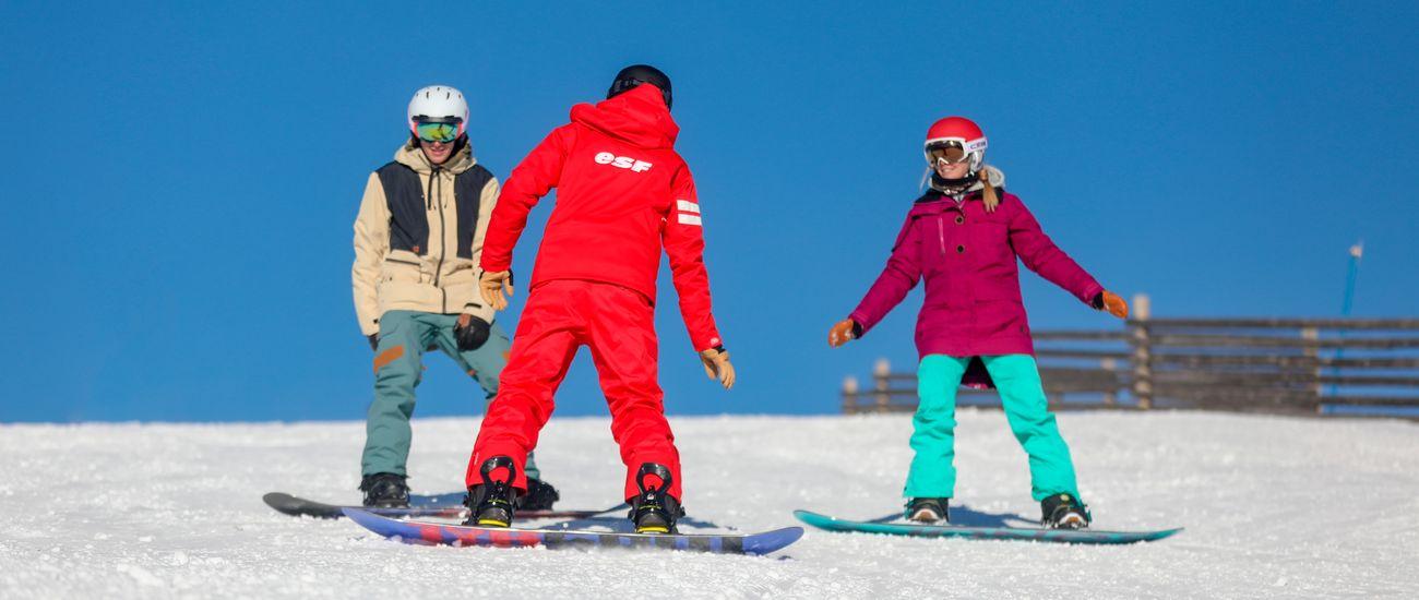 Leçons particulières ados de snowboard à Tignes Les Brévières