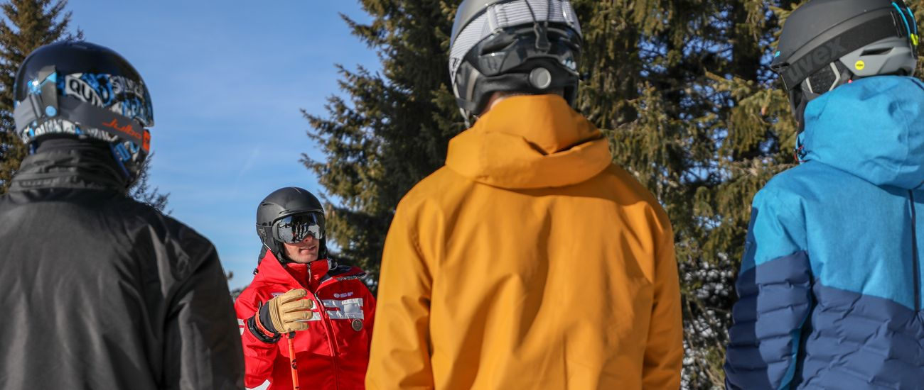 Cours collectifs de ski ados à l'ESF Tignes Les Brévières