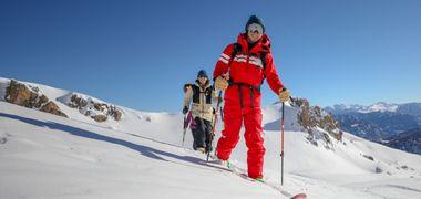 Sortie Ski de randonnée en leçon privée avec un moniteur ESF